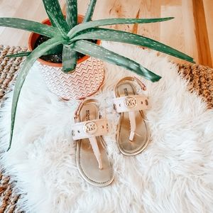 Michael kors Ellie blush sandals